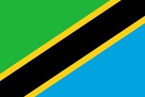 Flag of Tanzania.