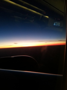 Sunrise over the Gulf of Arabia